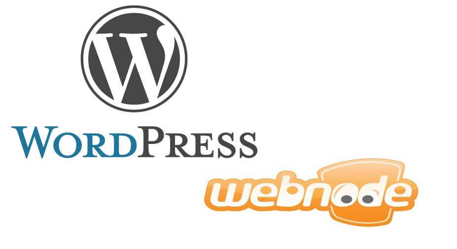 Srovnání WordPressu s Webnode
